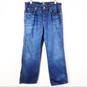 "7 For All Mankind Men's ""A"" Pocket Relaxed Jeans"